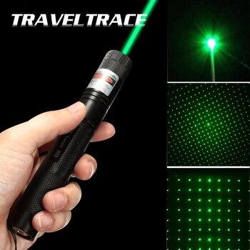 Wskaźnik laserowy High Power ogień wojskowy spalanie zielone światło widoczne wiązki potężne akcesoria myśliwskie zabawka dla kota latarka pióro laserowe