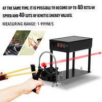 Strzelanie chronograf Bullet Tester prędkości wielofunkcyjny chronografu do fotografowania prędkościomierz piłka prędkość pomiaru energii