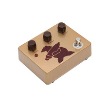 лучшая цена New Design Gold Klon Overdrive Guitar Pedal With High Gain Handmade Ture Bypass Effect Pedals