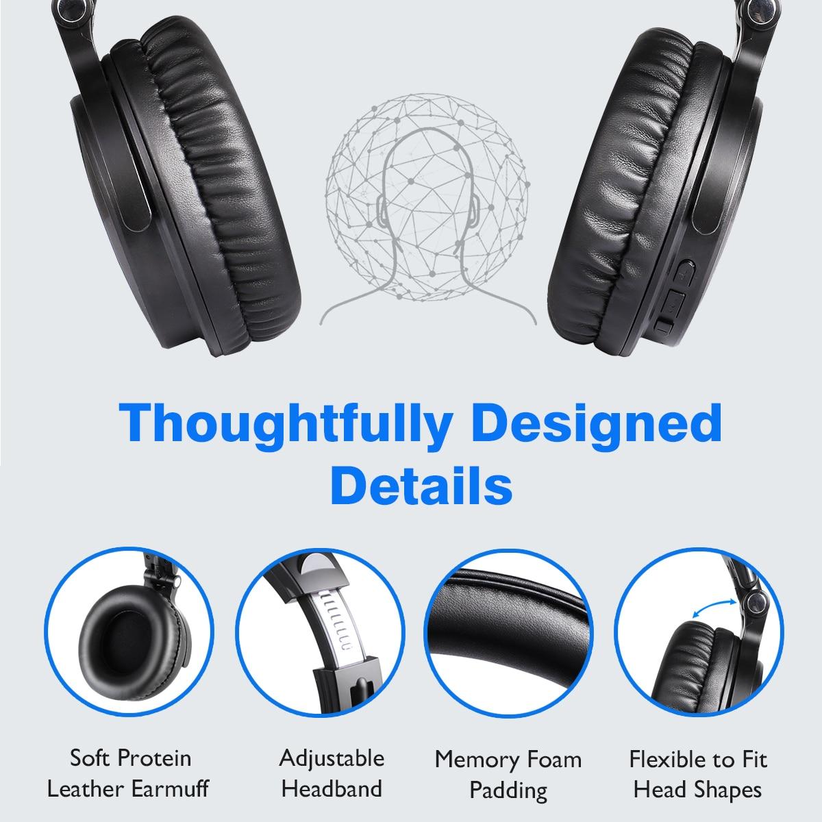 microfone embutido bluetooth 5.0 fone de ouvido