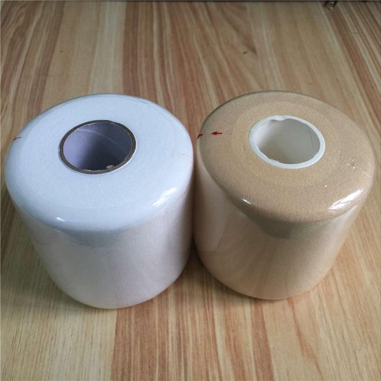 7 Cm X 27M Skin Film, Sponge Sports Bandage Foam Tape Underwrap Foam Tape