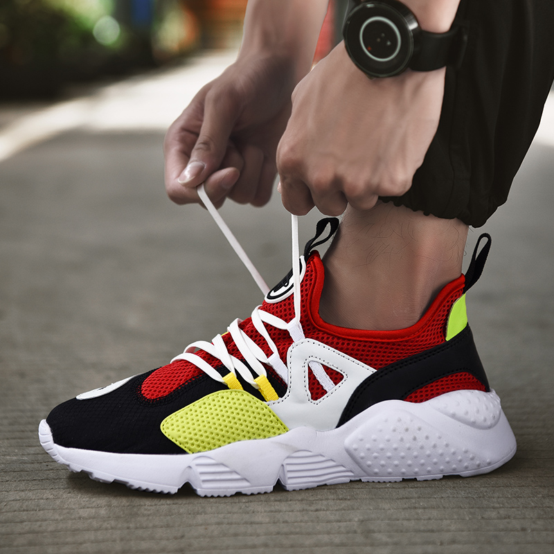 Damyuan 2020 New Summer Fashion Men Shoes Women Sneakers Running Shoes Sports Breathable Lace-up Zapatos De Hombre Big Size 47