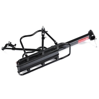 Black Bike Bicycle Quick Release Luggage Seat Post Pannier Carrier Rear Rack Fender Bicycle Frame     -