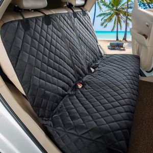 Image 2 - Dog Car Seat Cover Waterproof Car Rear Back Mat Dog Carrier For Pet Travel Cat Dogs Cushion Protector With Middle Seat Armrest