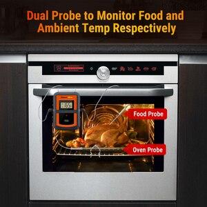 Image 3 - ThermoPro TP 08S 90M מרחוק אלחוטי מזון מטבח מדחום בדיקה כפולה עבור מנגל, מעשן, גריל, תנור, בשר עם טיימר