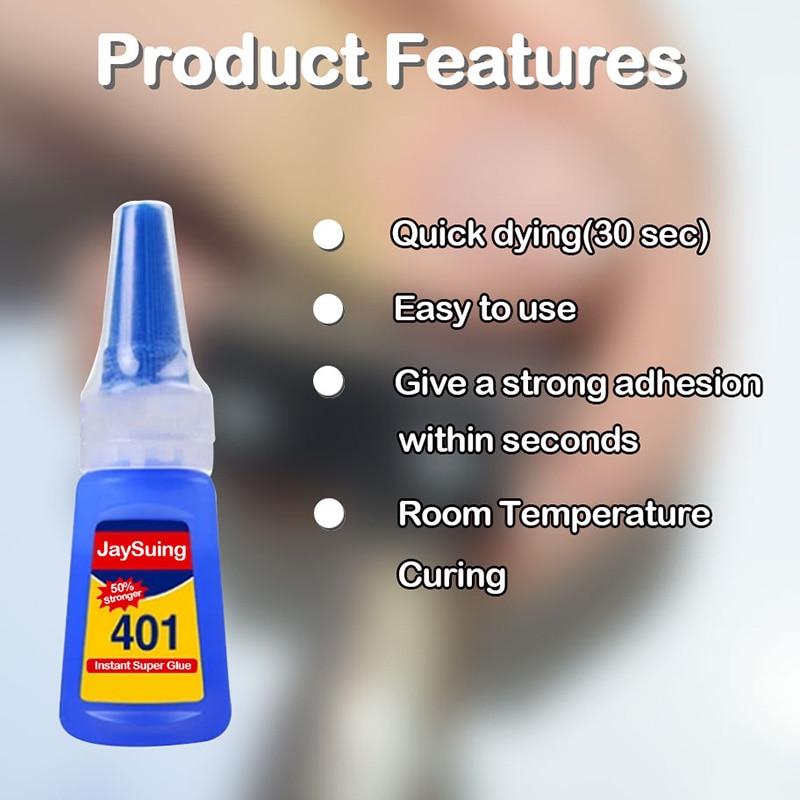 Instant Glue Fast Adhesive Multi-Purpose Jewelry DIY Crafts Stone Quick Dry Universal Glue PUO88