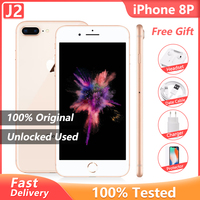 "Original Apple iPhone 8 Plus 3GB+ 64GB/256GB Smartphone Hexa Core 5.5"" 12MP iOS A11 4G LTE Unlocked Used like New Mobile Phone 1"
