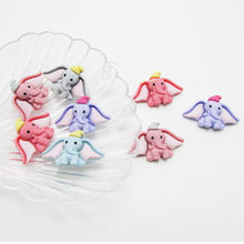 40pcs Baby Cute Dumbo Resin Mini LOL Clay Hair Rope Hair Ring Headwear Hairpin Accessories Jewelry Accessories Wholesale(China)