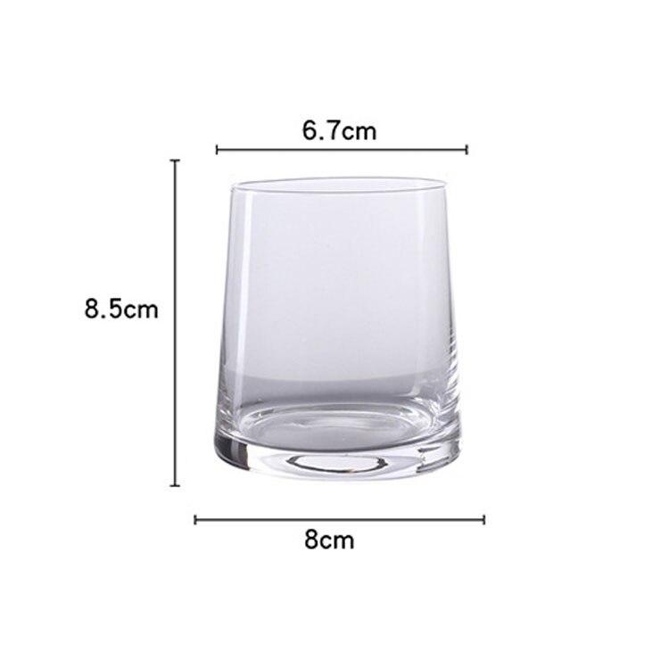 1 шт., 250 мл, прозрачный стакан для виски, вина, коктейля, кофе, молока, чашки для вина, пива, бокал es, водка, пивной бар, пивной бокал для клуба - Цвет: Белый