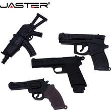 JASTER USB 2.0 מגניב תת אקדח נשק דגם דיסק און קי אקדח AK47 4 כדי 64gb עט כונן מתנה