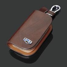 Кожаный Автомобильный Чехол для ключа дистанционного управления
