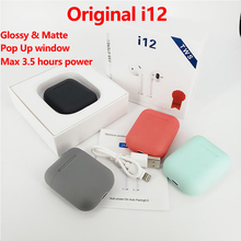 i12 TWS Wireless Headset Touch Key Bluetooth 5.0 S