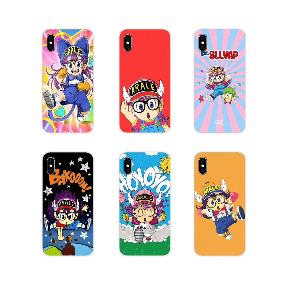 Transparent TPU Skin <font><b>Case</b></font> <font><b>Anime</b></font> Dr. Slump Arale Little Girl For <font><b>Xiaomi</b></font> Redmi 4A S2 Note 3 3S 4 4X 5 Plus 6 7 6A Pro Pocophone F1 image