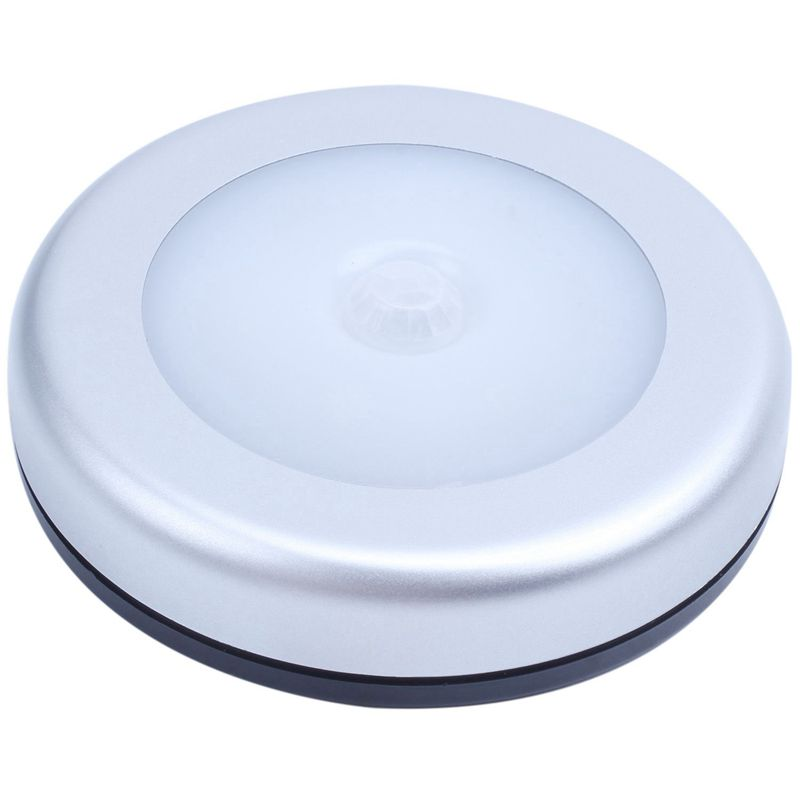Portable 6 LED Wireless Motion Sensor Night Light Battery-Powered With Sticker