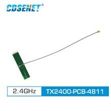 2 ชิ้น/ล็อต 2.4GHz PCB Wifi เสาอากาศ IPEX Connector 3.0dBi TX2400 PCB 4811 Omni ทิศทางเสาอากาศ 4g
