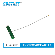 2pc/lot 2.4GHz PCB Wifi Antenna IPEX Connector 3.0dBi TX2400-PCB-4811 Omni Directional 4g