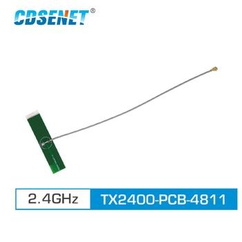 2pc/lot 2.4GHz PCB Wifi Antenna IPEX Connector 3.0dBi TX2400-PCB-4811 Omni Directional 4g Antenna 2 4g 5 8g antenna 5 8ghz full high gain antenna mmcx interface wifi bi frequency pcb antenna