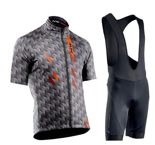 NW 2020 Verano Ciclismo Jersey Conjunto De Manga Corta Bicicleta Ropa Ciclismo Uniformes Ropa De Ciclismo Maillot Bib Shorts