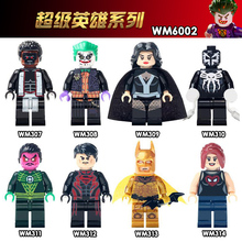 WM6002 Single Sale Spider Man Joker Zatanna DC Super Hero Justice League Comics Batman Building Blocks Children Gifts Toys DIY