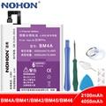 NOHON BM4A BM41 BM42 BM45 BM46 батарея для Xiaomi Redmi Pro 1 1S 2 2A Note 2 Note 3 Note Замена телефона большой емкости Bateria
