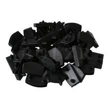 BQLZR пластиковые кровати планки торцевые крышки держатели Замена для удержания и крепления Деревянные Планки Кровать база Упаковка из 50