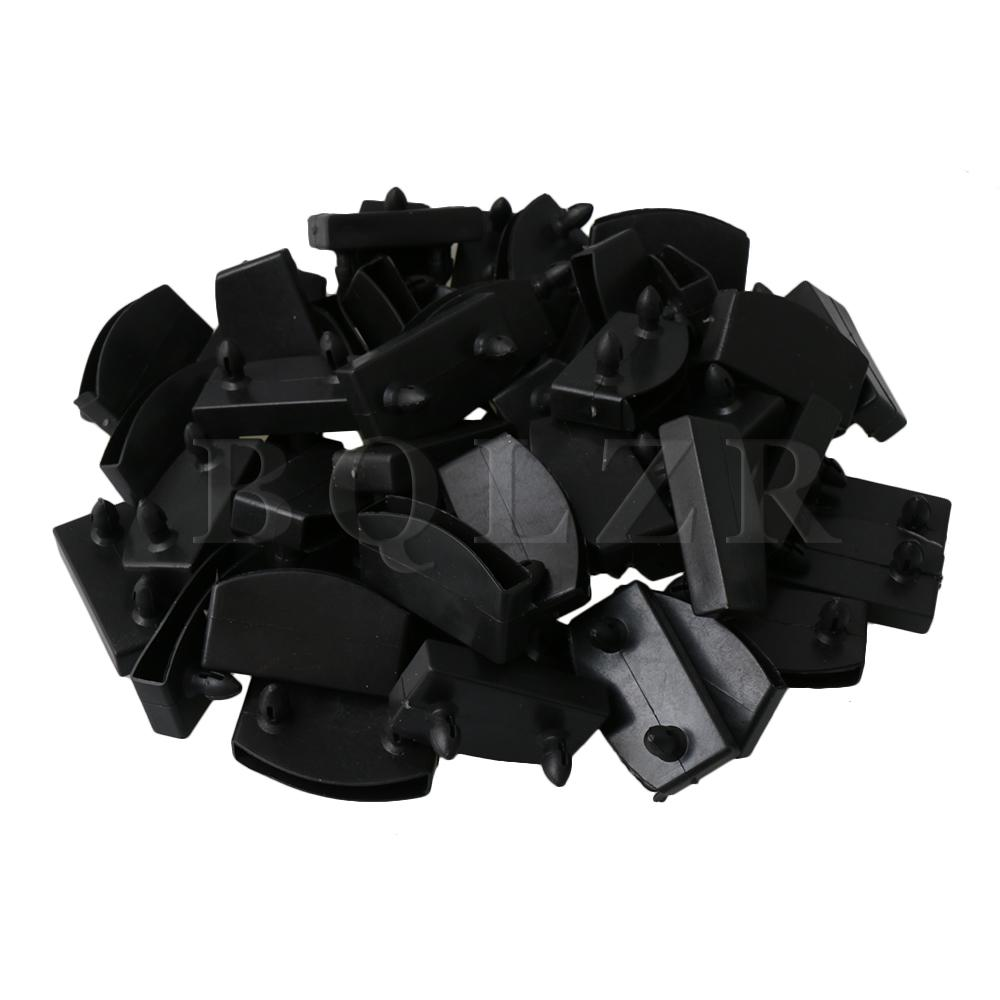 53mm wide REPLACEMENT BLACK PLASTIC BED  CAPS BED SLAT HOLDERS