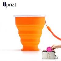 200ml copo de viagem silicone retrátil dobrável copos de café esporte ao ar livre telescópica dobrável copo de gargarejo de água de chá -
