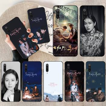 CUTEWANAN Son Ye Jin Hyun Bin Black TPU Soft Rubber Phone Cover for Xiaomi Mi9 9SE 8SE Pocophone F1 Mi8 Lite image