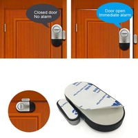 Janela da porta sem fio sensor magnético detector alarme alerta sirene para casa inteligente segurança dq-drop