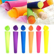Silicone Ice Stick Molds Form for Ice Cream Maker DIY Summer Frozen Ice Cream Mold Kitchen Tools Popsicle Maker Lolly Mould New