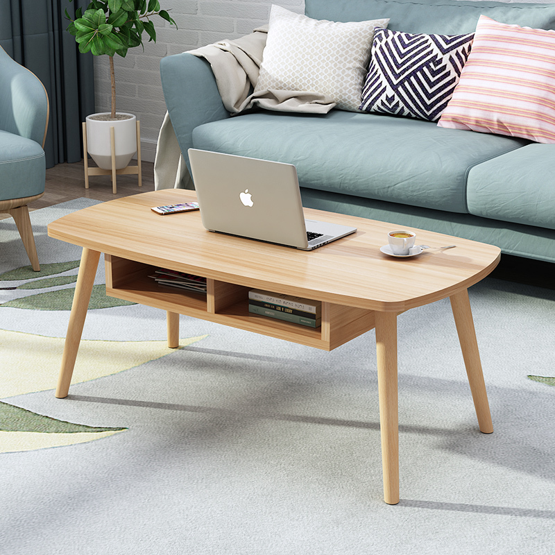 Multifunctional Living Room Tea Table Economic Type Small Apartment Coffee Table Nordic Mini Small Tea Table Simple Solid Wood
