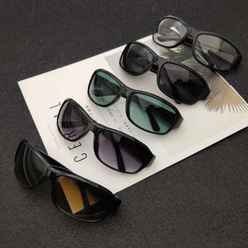 Okulary samochodu okulary słoneczne noktowizyjne okulary do jazdy nocą kierowcy gogle okulary przeciwsłoneczne Unisex okulary przeciwsłoneczne UV okulary tanie i dobre opinie CN (pochodzenie) Antyrefleksyjne Anty-uv Pyłoszczelna