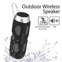 سماعة بلوتوث محمولة Avantree WP400 5.0 دراجة مع حامل للدراجة و فتحة للبطاقات SD ، 10 واط قاروس معزز قوي و NFC لاسلكي