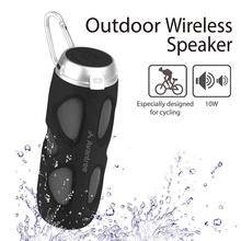 Avantree WP400 Portable Bluetooth 5.0 Bike Speaker with Bicycle Mount & SD Card Slot, 10W Powerful Enhanced Bass & Wireless NFC