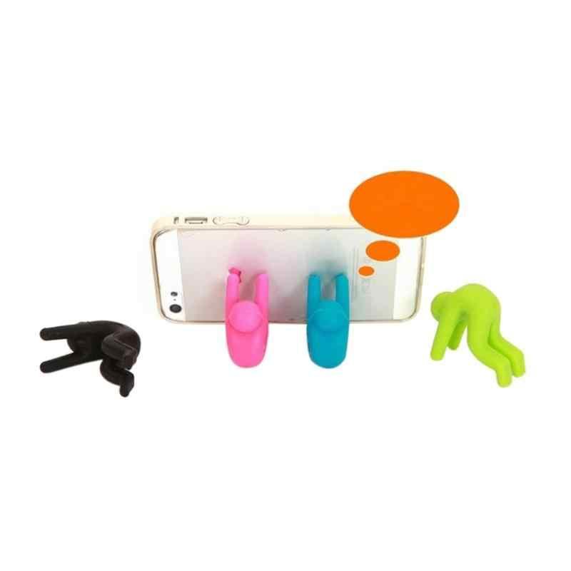 1PC סיליקון תינוק אנטי הלם אנטי-מעל זרימת טלפון סוגר להעלות מכסה מונע מרק סיר הצפת כלים סיר מדף מטבח גאדג 'ט צעצוע