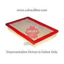 Фильтр Воздушный Kia Pride 96- A1725 Sakura арт. A1725