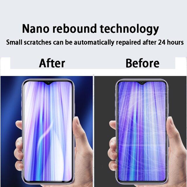 2 in 1 Screen Hydrogel Film for Xiaomi Redmi Note 7 Pro 7S Xaomi Note7 Xiomi Redmi7 7a Camera Lens Protector No Protective Glass