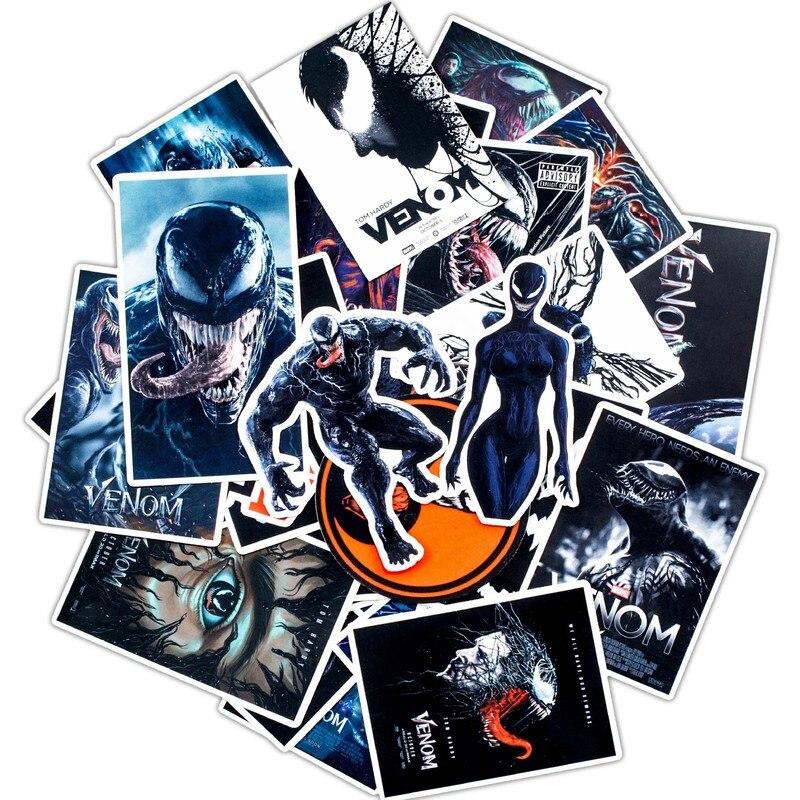 30PCS Pack 2020 New Stickers Set Venom Stickers For Kids Luggage Skateboard Laptop Graffiti Funny Sticker Anime Stickers