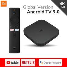 Version mondiale Xiaomi Mi TV Box S Android 9.0 4K HDR 2G 8G WiFi Google Cast Netflix lecteur multimédia décodeur de contrôle intelligent BT4.2