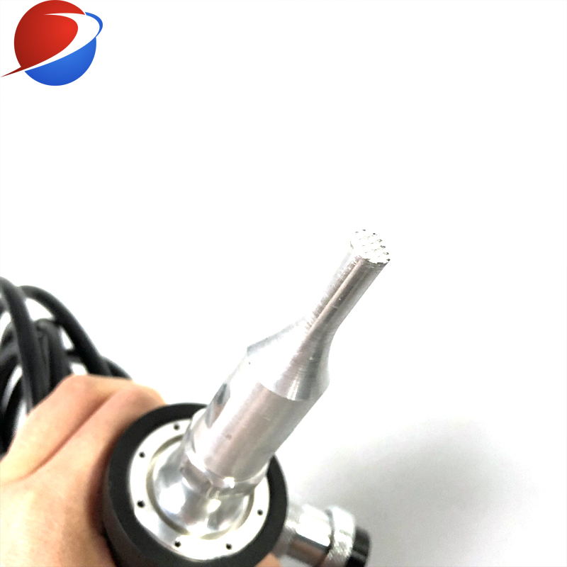 Ultrasonic Spot Welding Machine And Generator With Hand-held Design For Welding And Dots 2