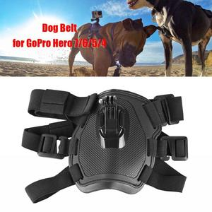 Image 3 - Caméra daction chien harnais montage réglable pour GoPro Hero 7 6 5 4 Xiaoyi sport Cam poitrine sangle support