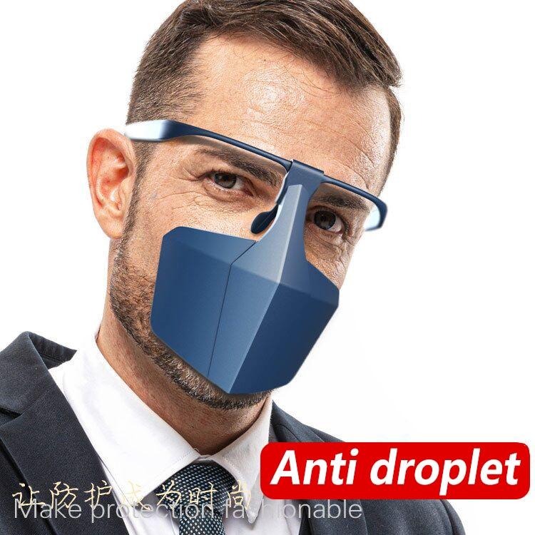 10pcs Face Shield Face Mask Anti Splash Shield, Droplet Proof, Virus Shield Anti-virus Isolation Screen Protective Equipments