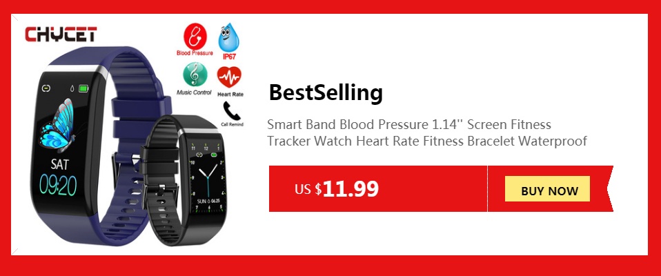 Hbb3303a2186f4819bbc61641cab228a0S Smart Band Blood Pressure 1.14'' Screen Fitness Tracker Watch Heart Rate Fitness Bracelet Waterproof Music Control For Men Women