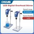 ONILAB O20-Star Laboratory LCD Digital Overhead Mixer Stirrer