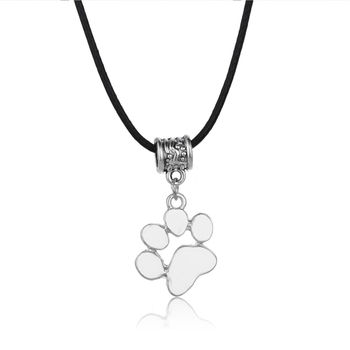 Dog Heart Charm Necklace 6