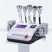 Ультразвуковая кавитационная вакуумная RF липо лазерная машина для похудения тела 80k жировая кавитация липосакция ультразвуковое подъемно...