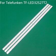 Светодиодная подсветка для телевизора Telefunken TF светодиодный 32S27T2 32 дюйма, светодиодные полоски для подсветки, линейка для линии 5800 W32001 3P00 0P00 ver00,00 RDL320HY