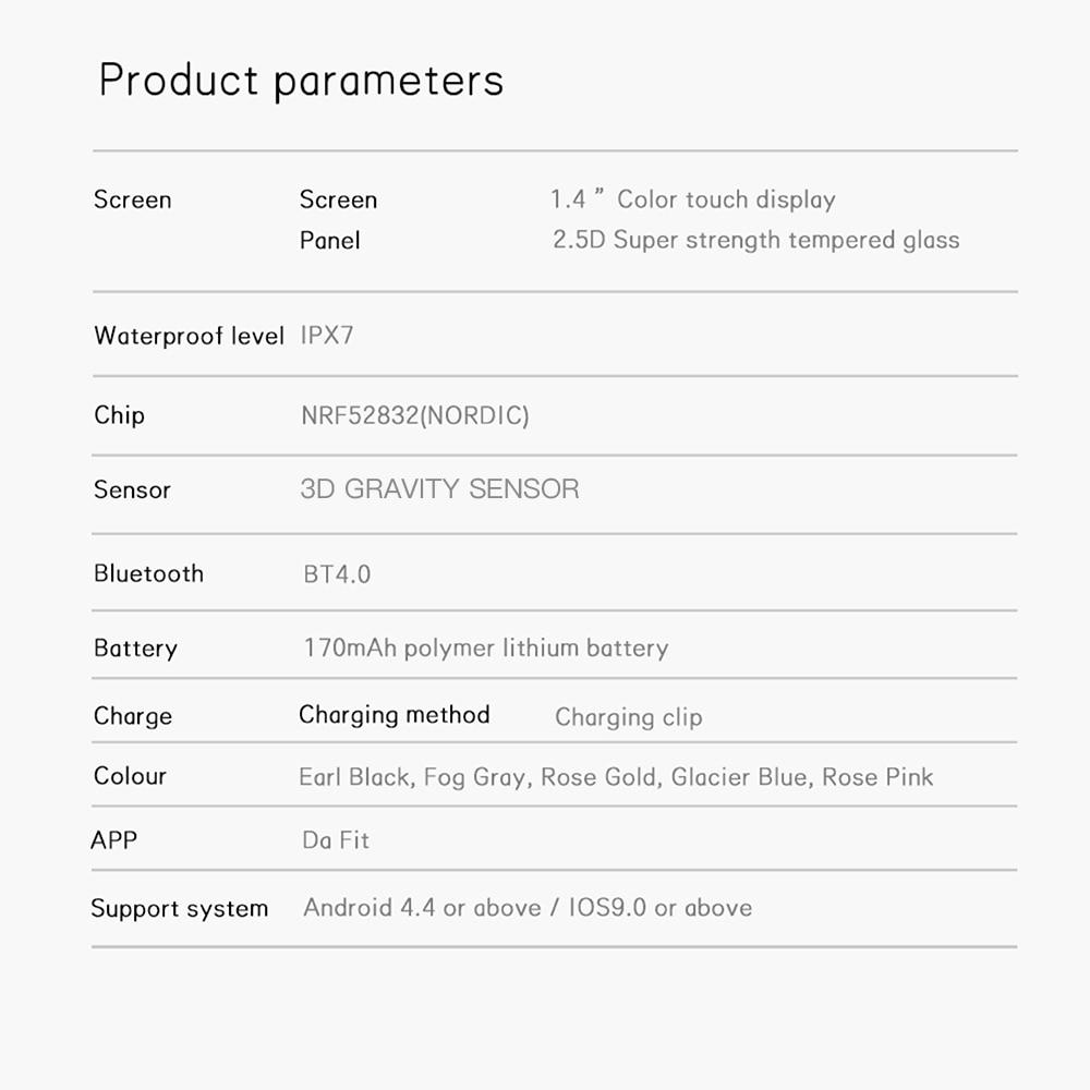 de fitness monitor sono smartwatch para ios android samsung xiaomi redmi