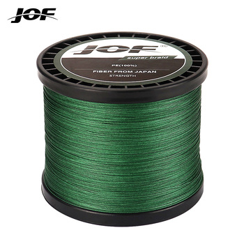 JOF 4 Strands Braided Fishing Line Multifilament 300M 500M 1000M Carp Fishing Japanese Braided Wire Fishing Accessories Pe Line meredith 4 strands braided pe fishing line 300m 500m 1000m 15 80lb multifilament smooth fishing line for fishing lure bait