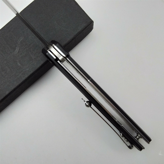 KESIWO J024 folding blade knife D2 tactical pocket camping survival knives flipper G10 handle hunting Portable kitchen EDC knife